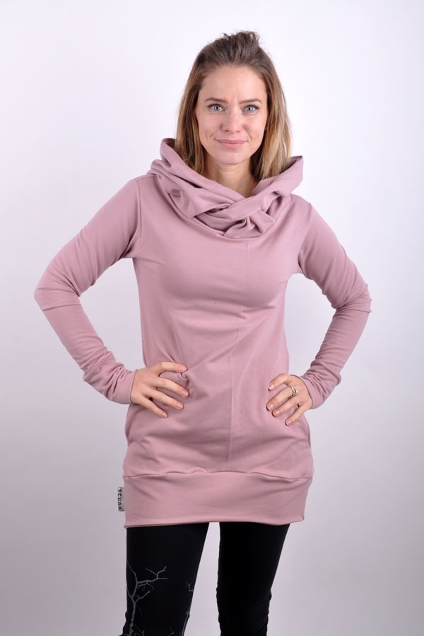 CrossiX hoody LIMITED powder pink