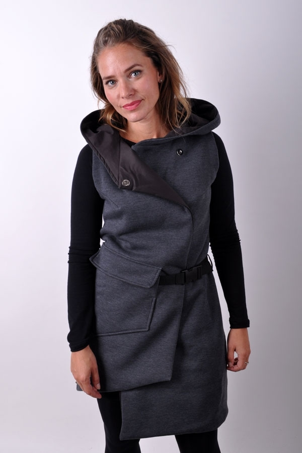 PocketiX vest grey melange
